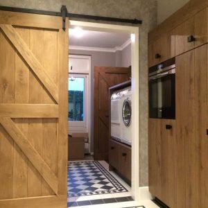 loftdeur van eikenhout - eikenhouten loftdeur