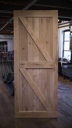 houten binnendeuren van eikenhout bij Cottageworld