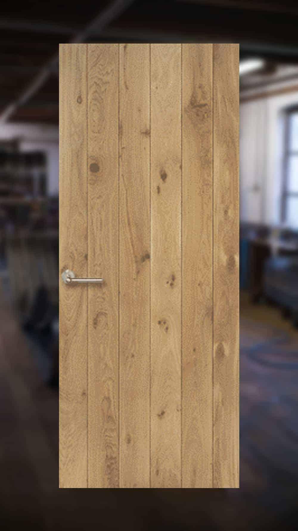 massief eikenhouten binnendeuren - Loftdeuren op maat gemaakt