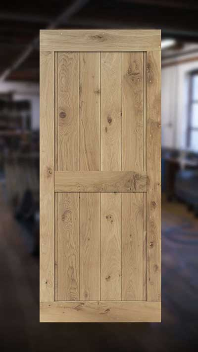 houten deuren Cottageworld model F binnendeur