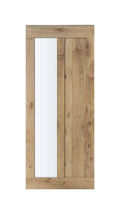 eikenhouten binnendeur van Cottageworld, op maat gemaakte houten deuren